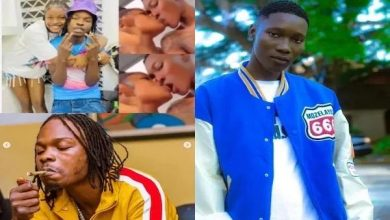 Photo of ENT/GIST NEWS: Zinoleesky Shocked Fans When He Kissed Subomi ,Naira Marley Sister.